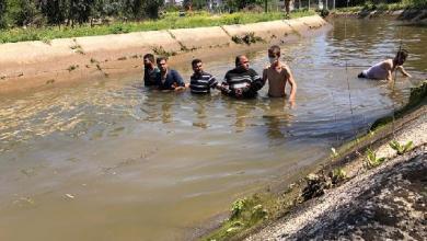 صورة مواطنون يعثرون على امام جامع مقـ.ـتول ومرمـ.ـي وسط قناة ري في جنوب تركيا