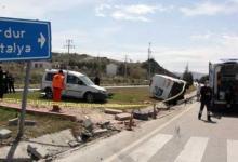 صورة شاهد بالفيديو.. حادث مروع على الطريق السريع في هذه الولاية التركية