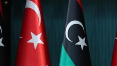 صورة اجتماع عاجل بين وزير ليبي و السفير التركي وهذا ما اتفقا عليه