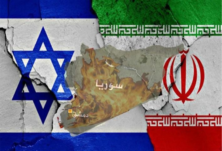 اسرائيل سوريا ايران