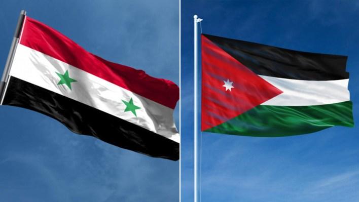 الاردن سوريا