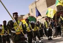 """صورة هكذا تسـ.ـتغل ميليـ .ـشيا """"حزب الله"""" العراقي دور العزاء الخاصة بقتـ .ـلاها"""