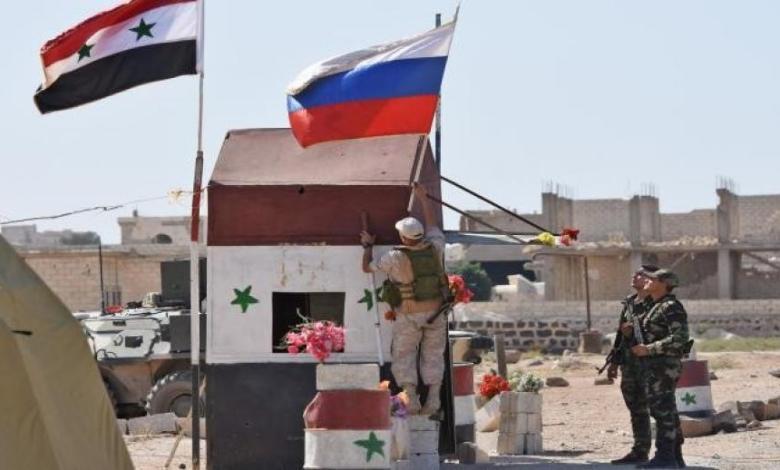 روسيا سوريا