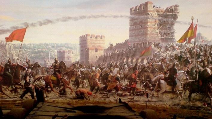 القسطنطينية - تركيا تحتفل بالذكرى الـ 568 لفتح القسطنطينة (إسطنبول) اليك القصة الكاملة لفتحها على يد العثمانيين