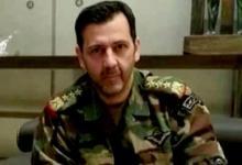 """صورة ما الذي يحدث..؟ عناصر المخابرات والفرقة الرابعة يزيـ.لون صور """"ماهر الأسد"""""""