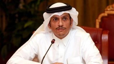 صورة وزير الخارجية القطري يفاجئ العالم و يعلن عن موقف بلاده من إعادة العلاقات مع نظام الأسد