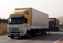 صورة شاهد.. تركيا ترسل 90 شاحنة معونات للداخل السوري كمساعدات انسانية