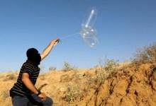 صورة إطـ.ـلاق بالونات حـ.ـارقة من غزة.. واجتماع إسـ.ـرائيلي لاستئناف الحـ.ـرب