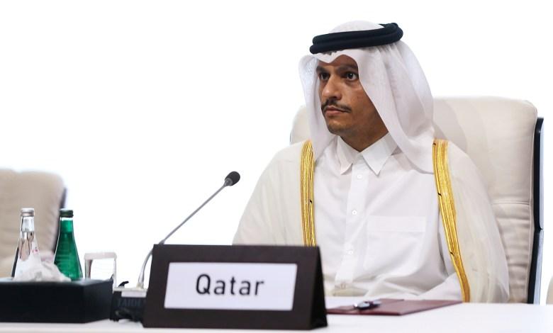وزير الخارجية قطر