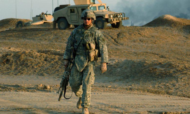 us army 780x470 1 - الجيش الأمريكي يحط بهذه الصحراء وينشر آليات حـ.ـربية..إليك التفاصيل