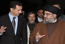 """صورة زيارة سرية إلى دمشق من قبل حسن نصر الله ويلتقي """"بشار الأسد"""" لهذا السبب"""