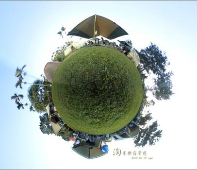 【南投埔里 優質營區】 桃米香露營區 | 厚厚的草皮、小朋友的沙坑