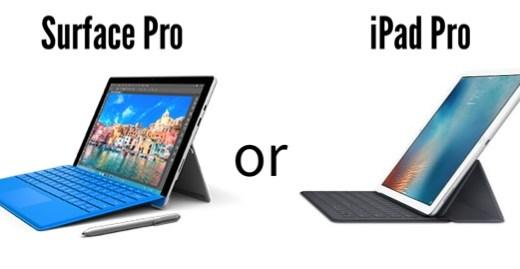 学生はSurface ProよりもiPad Proを買った方がいいと思う理由