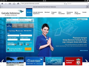 Websites Garuda Indonesia