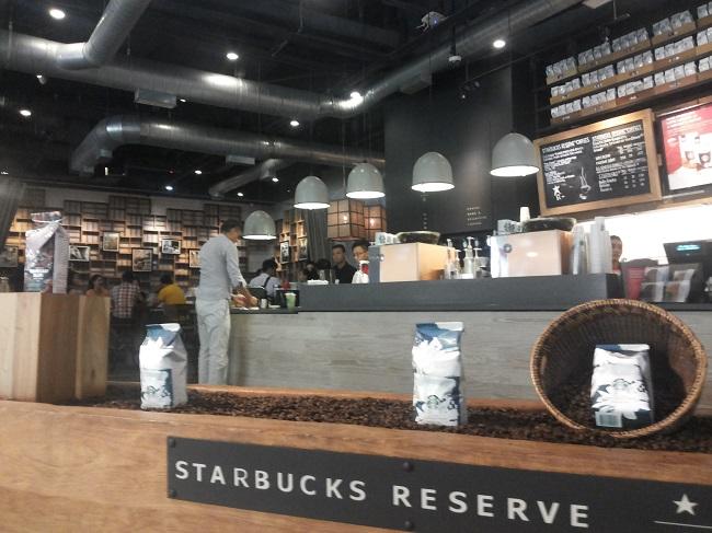 Starbucks Reserve (foto: koleksi pribadi)