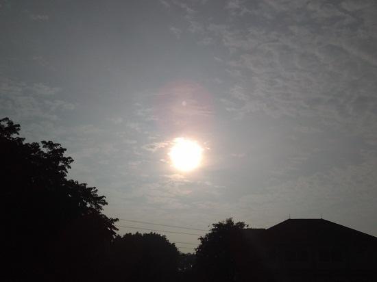 Matahari pagi (foto dokpri)