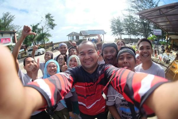 Welfie Bareng Walikota Irwansyah (foto Dudi Iskandar)