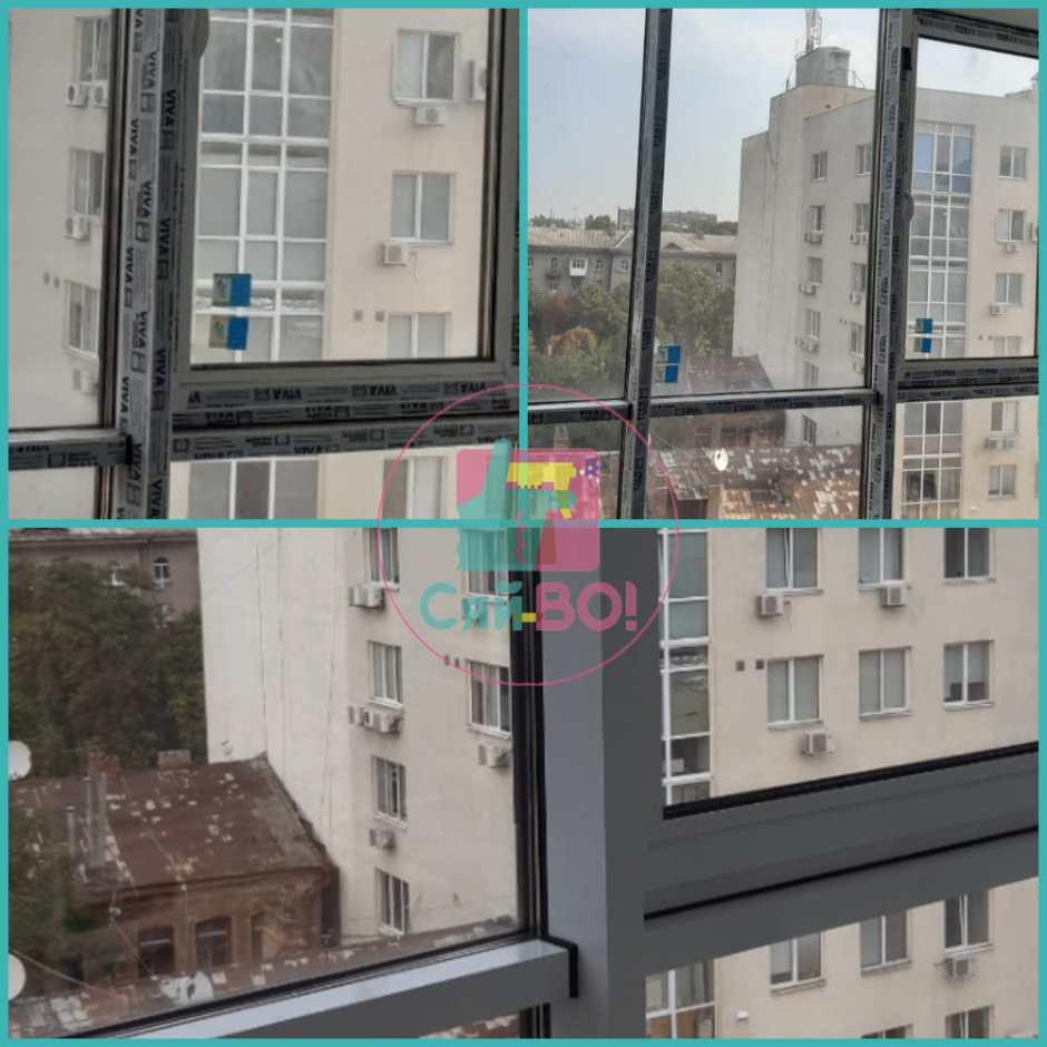 Миємо вікна в багатоповерхових будинках