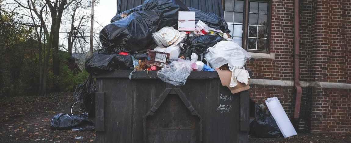 прибирання вивезення утилізація домашнього побутового сміття
