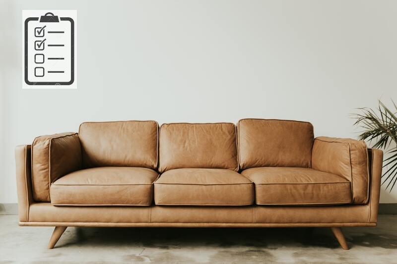 Чек-лист хімчистки м'яких меблів і килимових покриттів