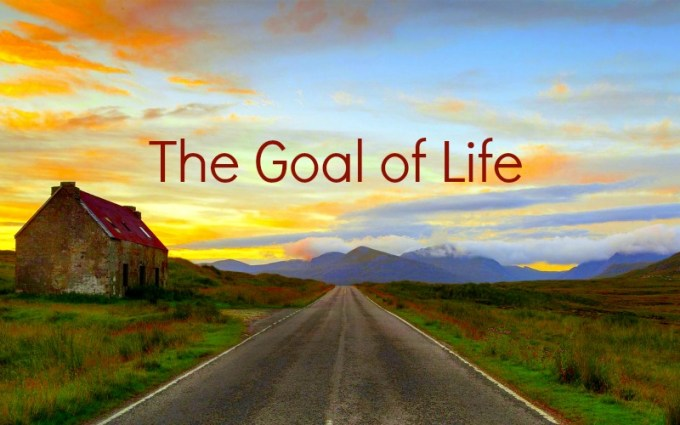Image result for THE GOAL OF LIFE