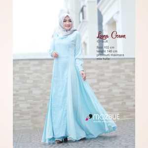 Dress muslimah yang cantik mozbue