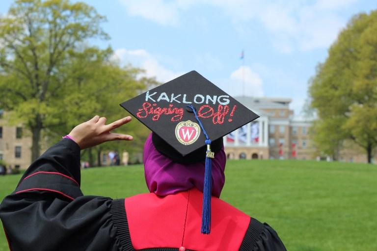 Syaza Nazura graduation BBA University of Wisconsin-Madison