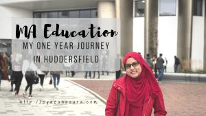 MA Education Huddersfield