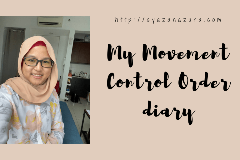 My movement control order diary
