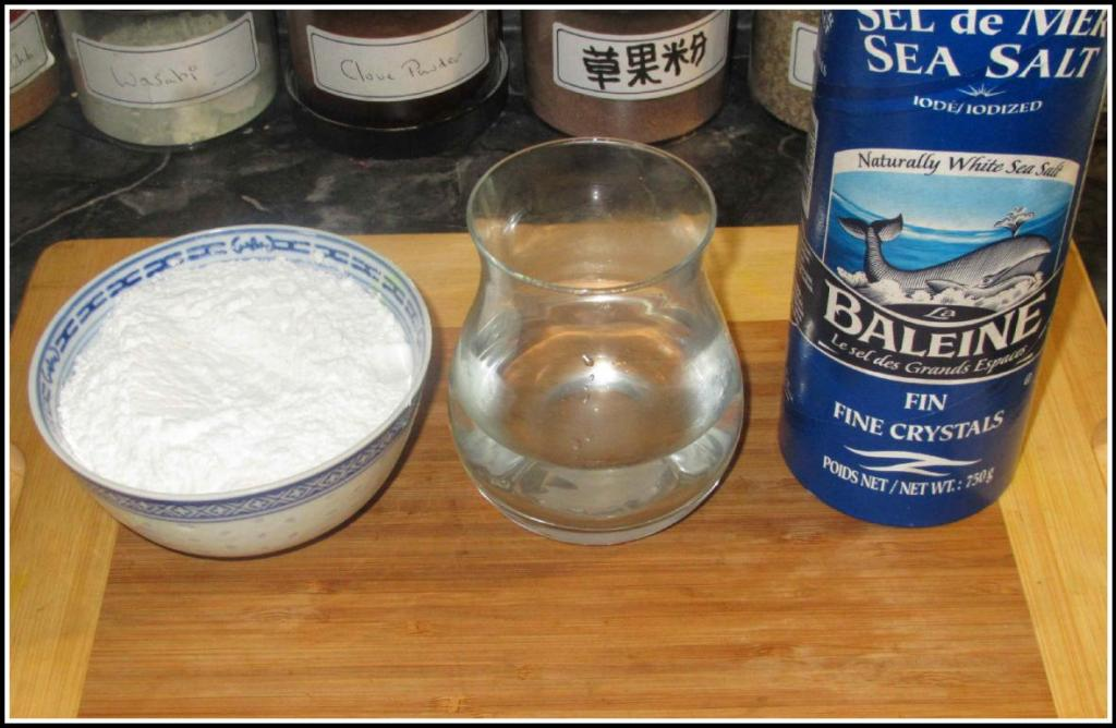 The Ingredients for a Basic Dough
