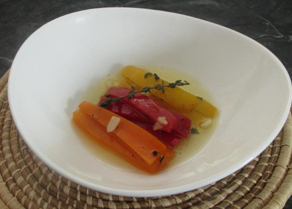 Marinated Sweet Peppers