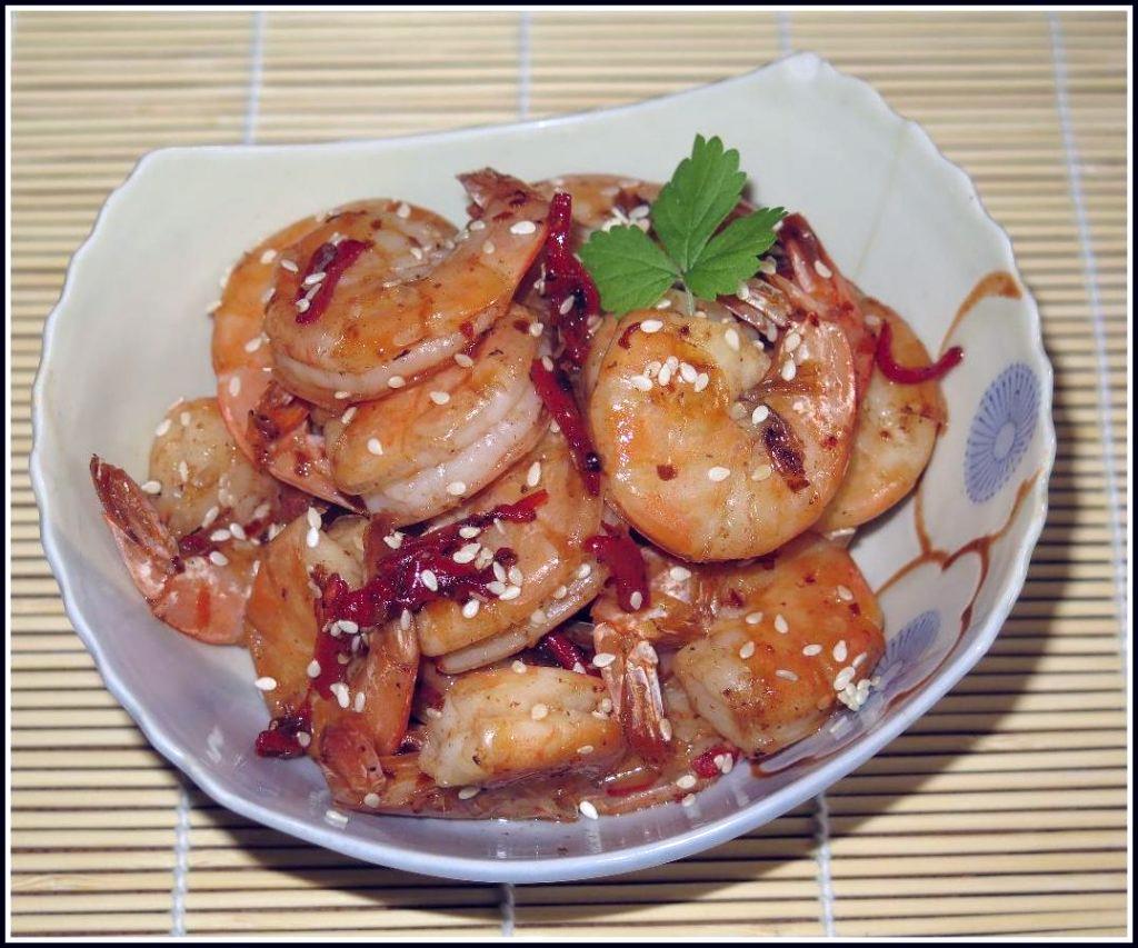 Honey Chili Shrimp – 辣甘美明蝦