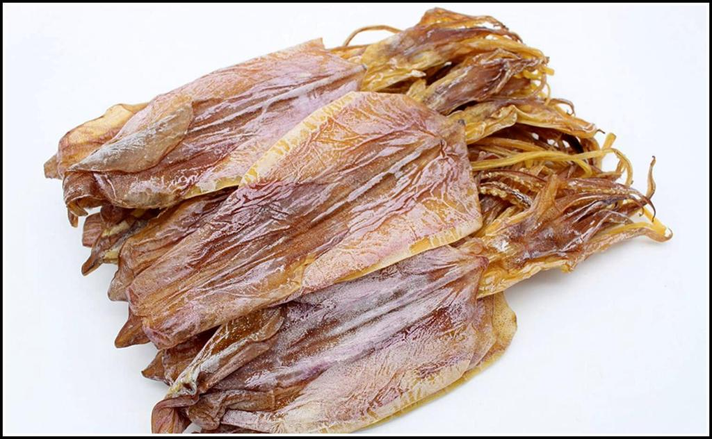 Using Dried Squid and Octopus