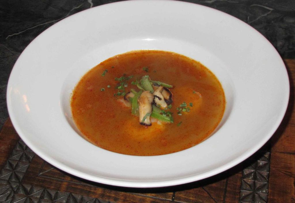 A Simple Tom Yum Soup