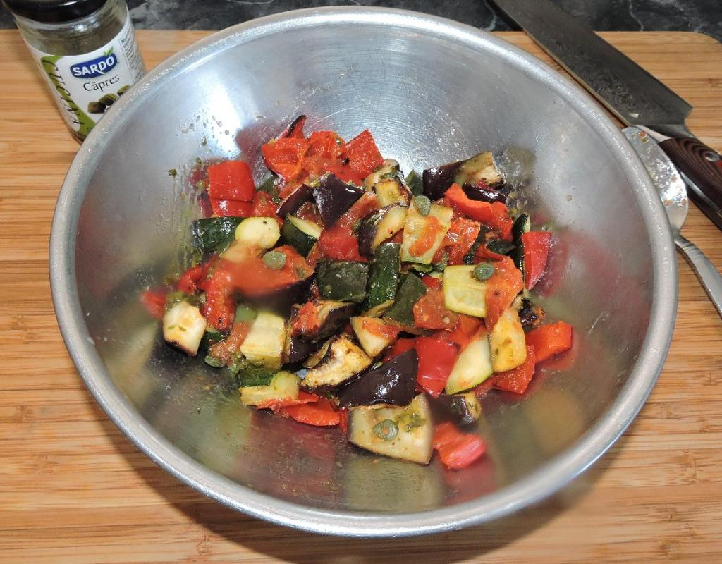 The Main Vegetable Ingredients with Additional Aromatics
