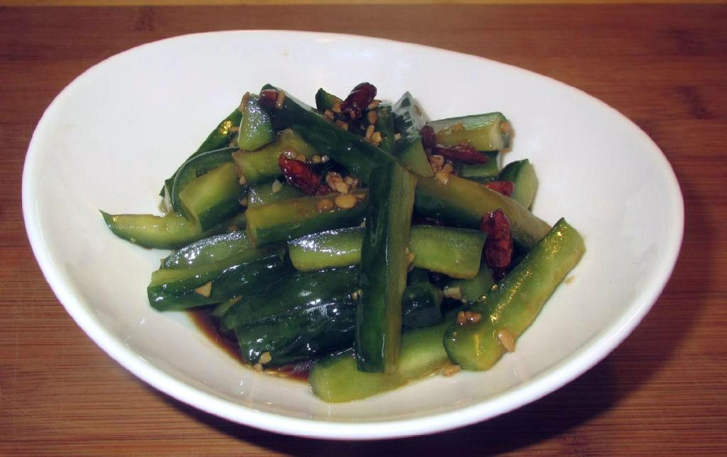 Sichuan Style Dressed Cucumber