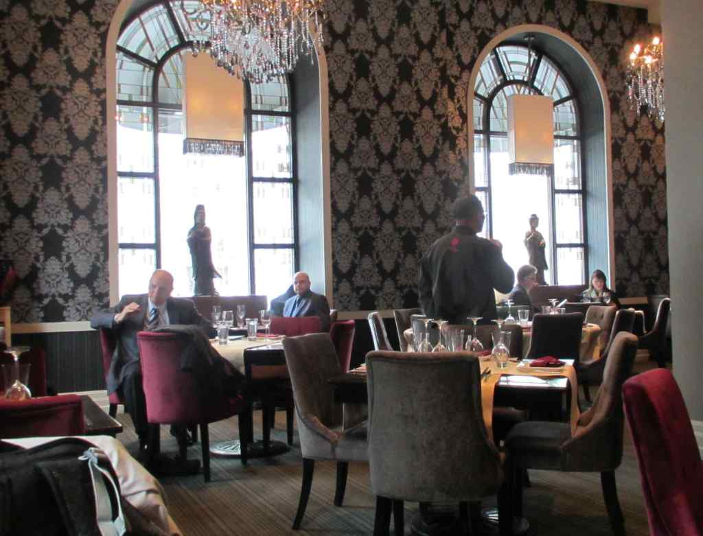 The Palatial surroundings at Le Piment Rouge