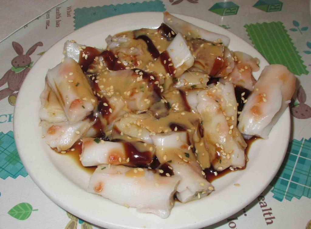 Rice Noodle Roll (腸粉) at Cafe Orient