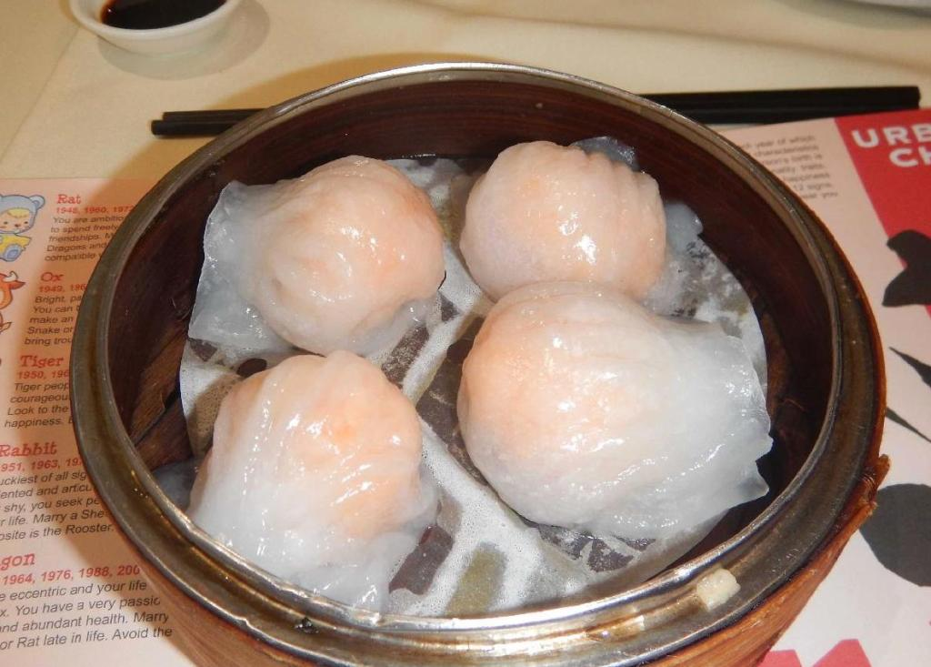 Har Gow (蝦餃) at Urban China