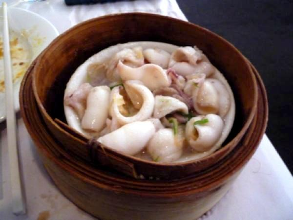 Squid Steamed at Palais Imperial