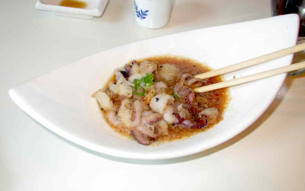 Tako Karaage at Sushi Nami Royale