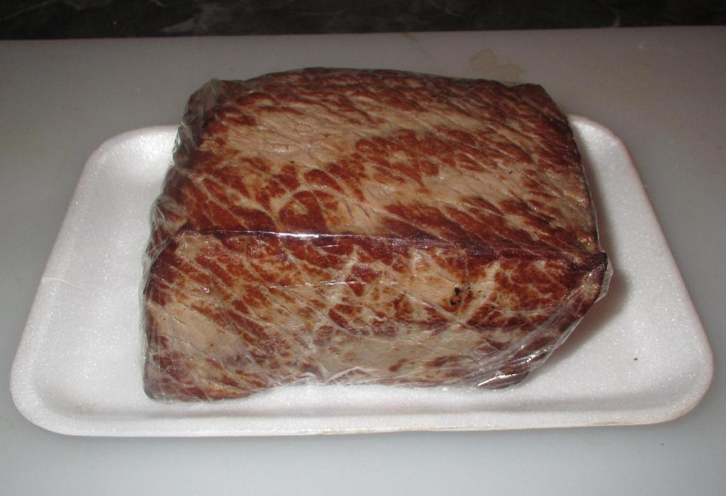 Beef Tataki ready to be used