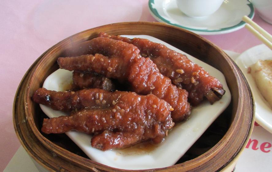 Chicken Feet at the Hum Sung Restaurant in Ottawa
