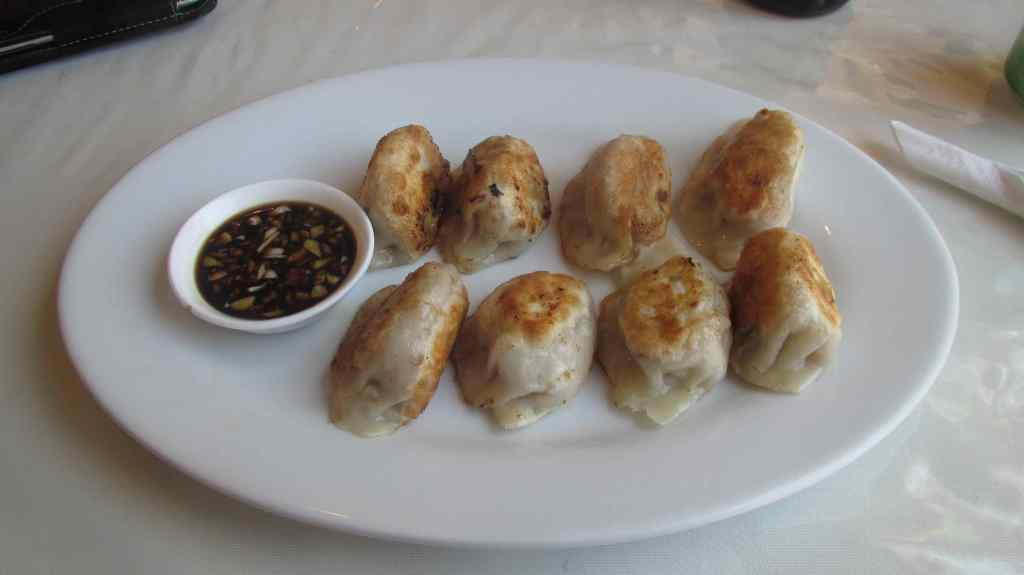 Pot-stickers at Jing Cheng