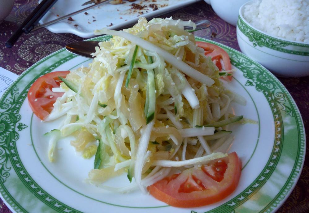 Jellyfish Salad at Juxiangyuan