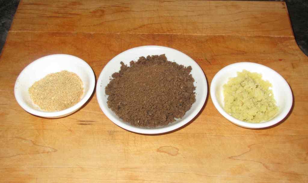 Preparing Ingredients for use in Sambal Belacan