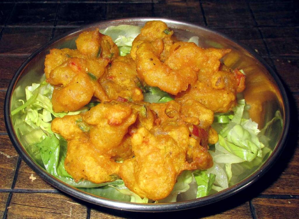 Shrimp Bhaji