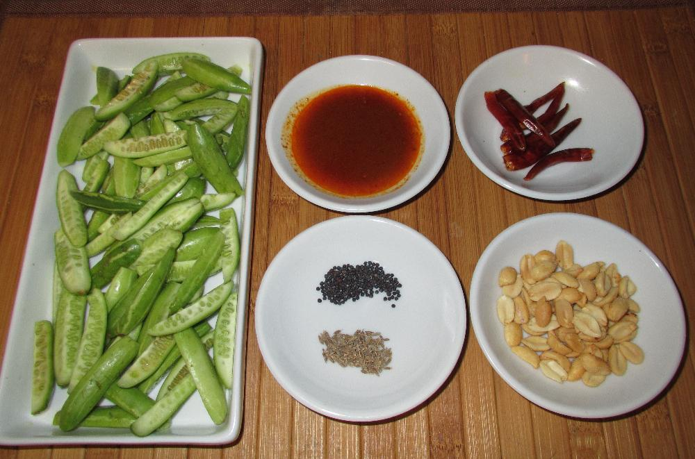 The Ingredients for a Tindora Masala Recipe