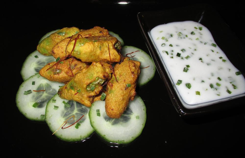 Tindora Pakora Appetizer