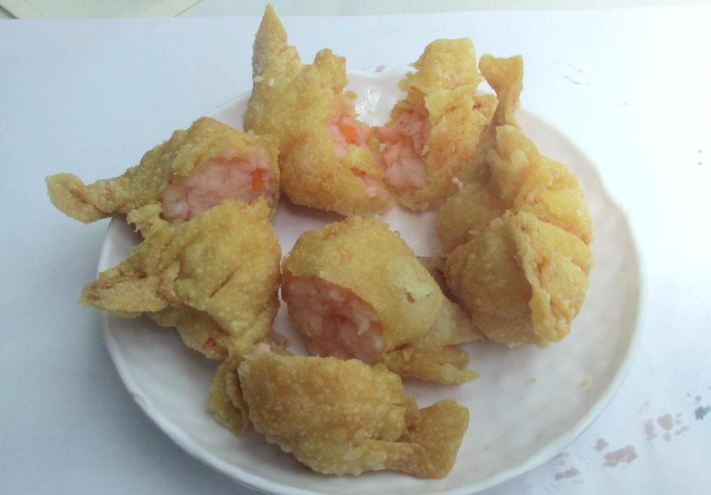 Deep-Fried Lobster Dumplings